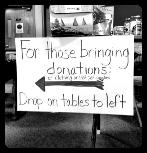 Sandy Relief Center in Sayville